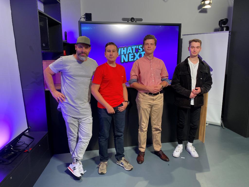 What's Next mit Gast Matthias Maze Meusel und Schüler